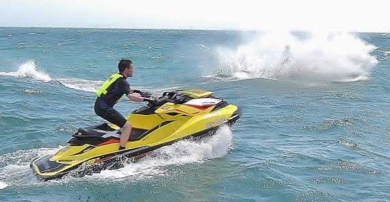 Jet skis off Shoreham
