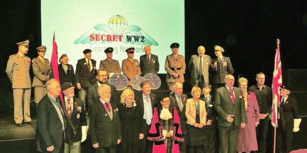 image of Dignitaries including Peter Kyle MP