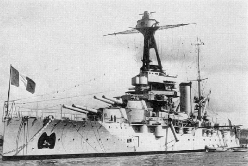 image of Dreadnought at Jutland