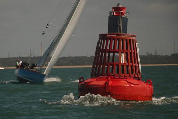 Yachting image of West Lepe Buoy, Western Solent