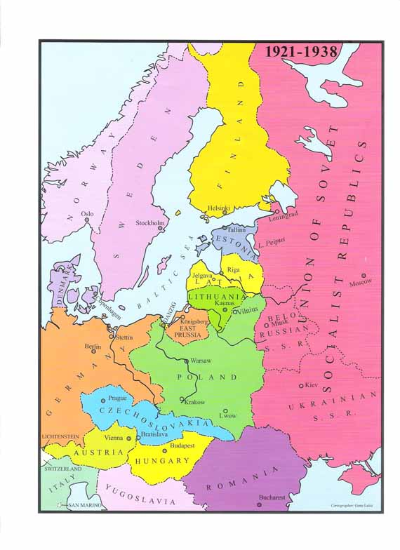 Political Map Of Eastern Europe THE NEWS - Map of eastern europe