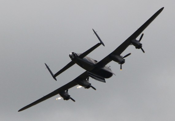 Lancaster Bomber RAF Memorial Flight
