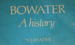 image of Bowater title page