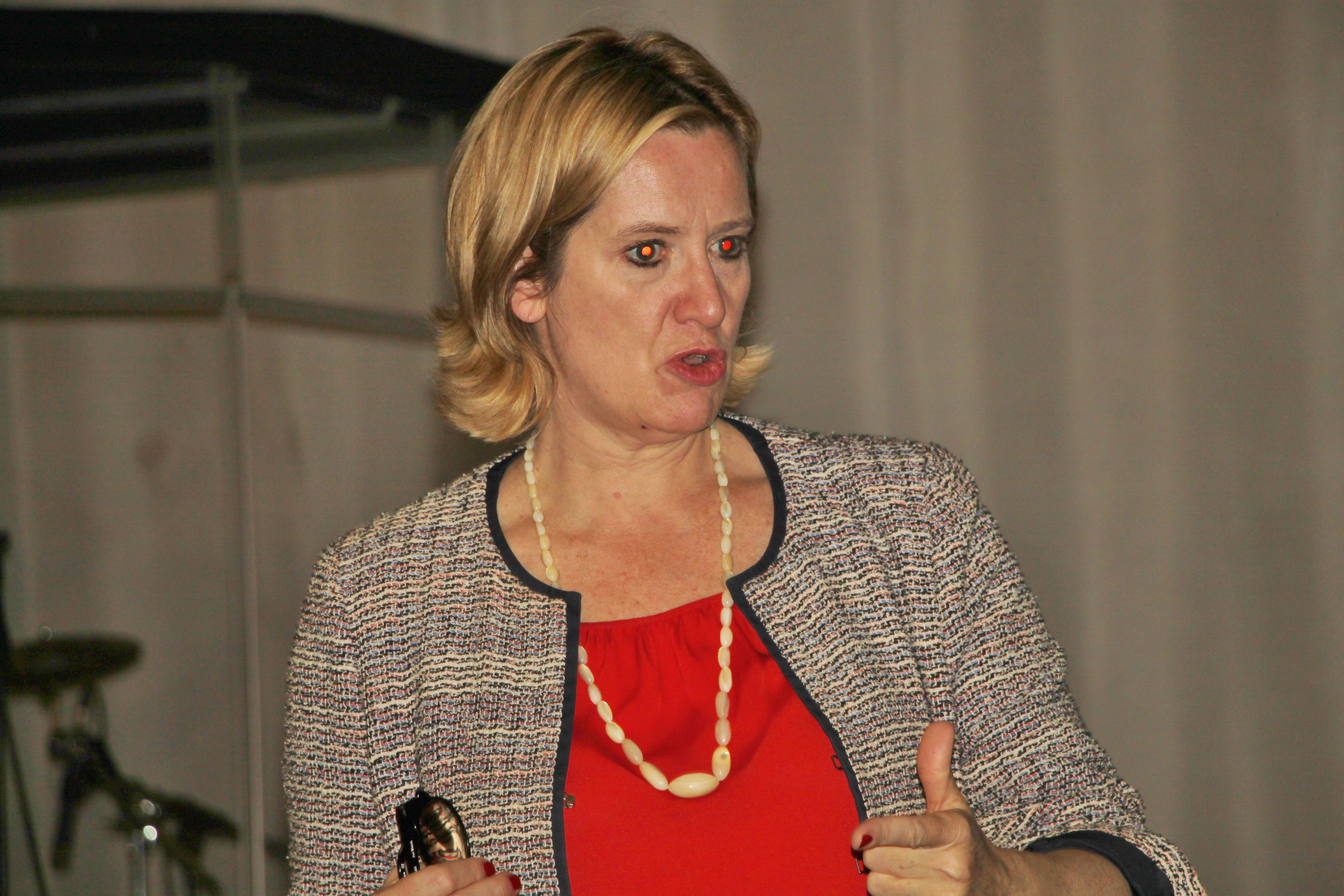 image of Home Secretary Amber Rudd MP