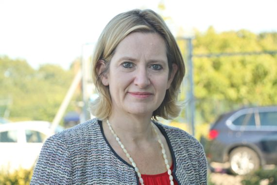 image of Amber Rudd Home Secretary and MP for Hastings