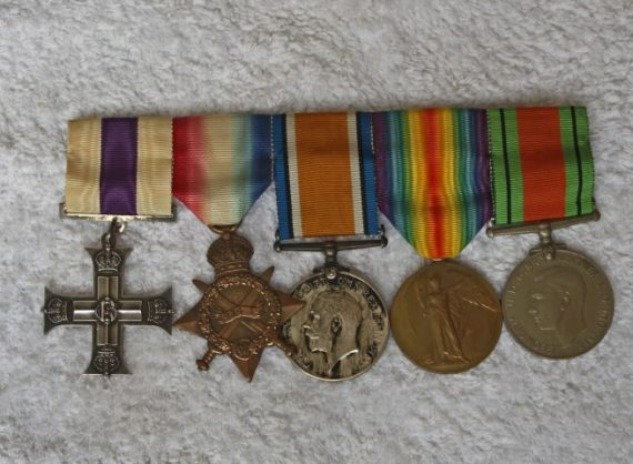 image of Sir Noel Bowater's medals