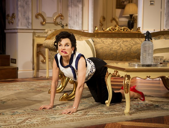 image of Lisa Maxwell as Judy Garland