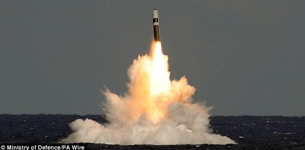 image of Trident missile