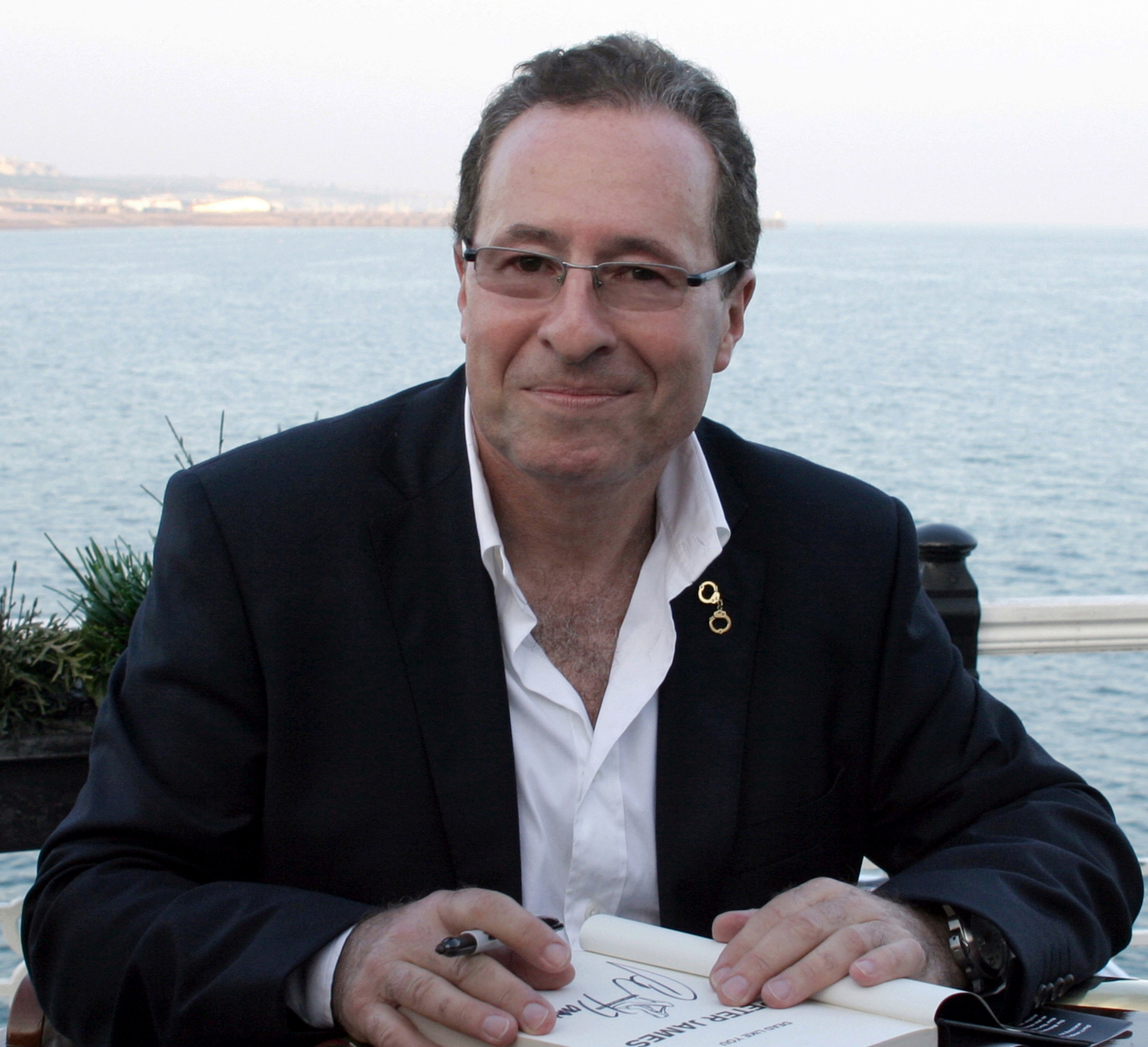 image of crime author Peter James