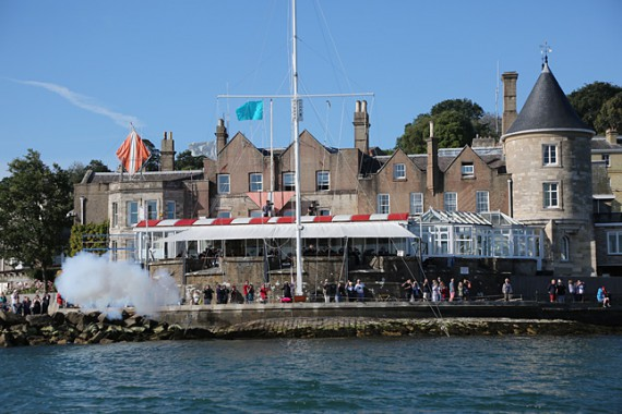 Start at the Castle-Cowes home of the Royal Yacht Squadron
