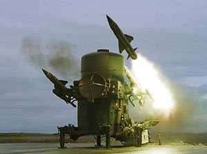 image of Rapier anti aircraft missile