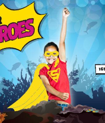 image of Sea Life Brighton superheroes
