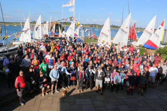 Sussex sailors at Bosham Sailing Club