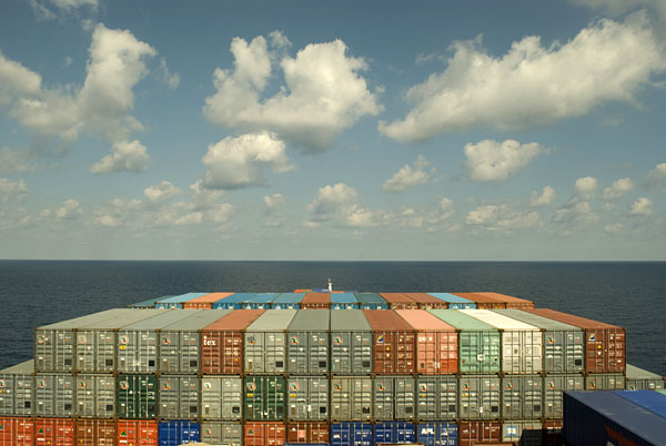 image of containership